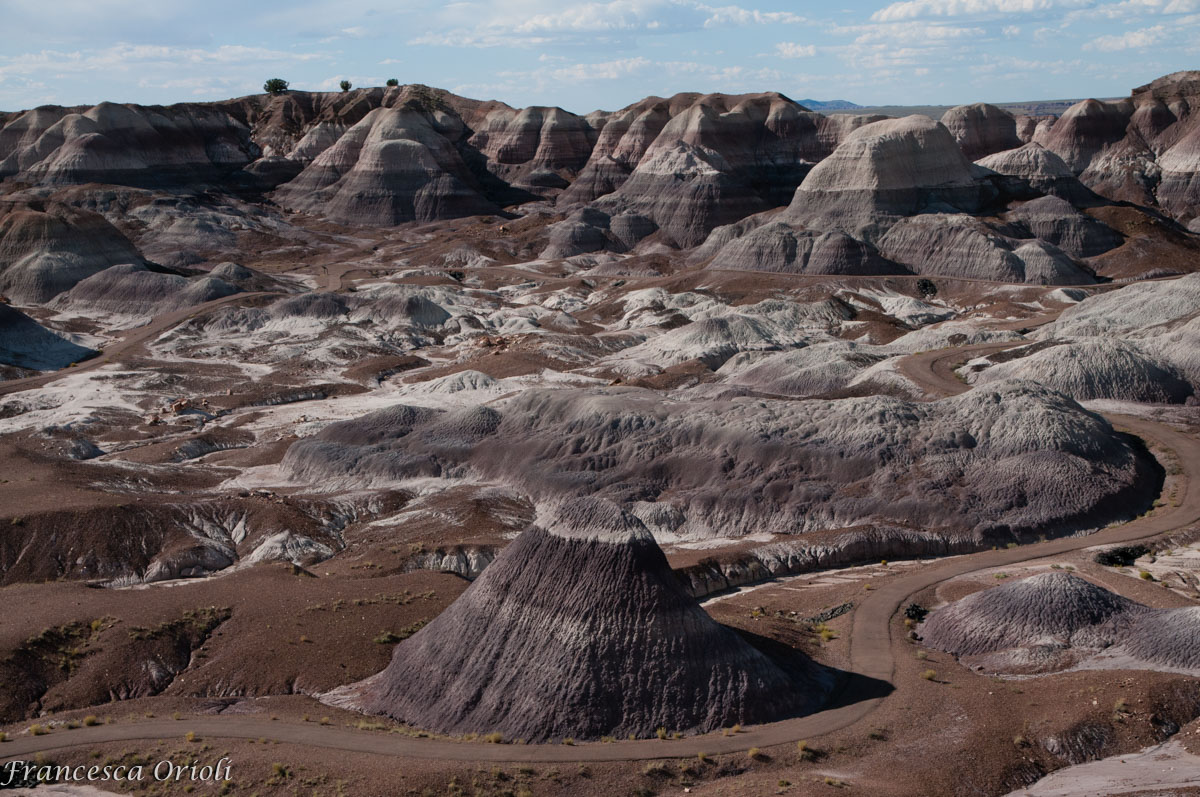 Painted Desert Blue Mesa