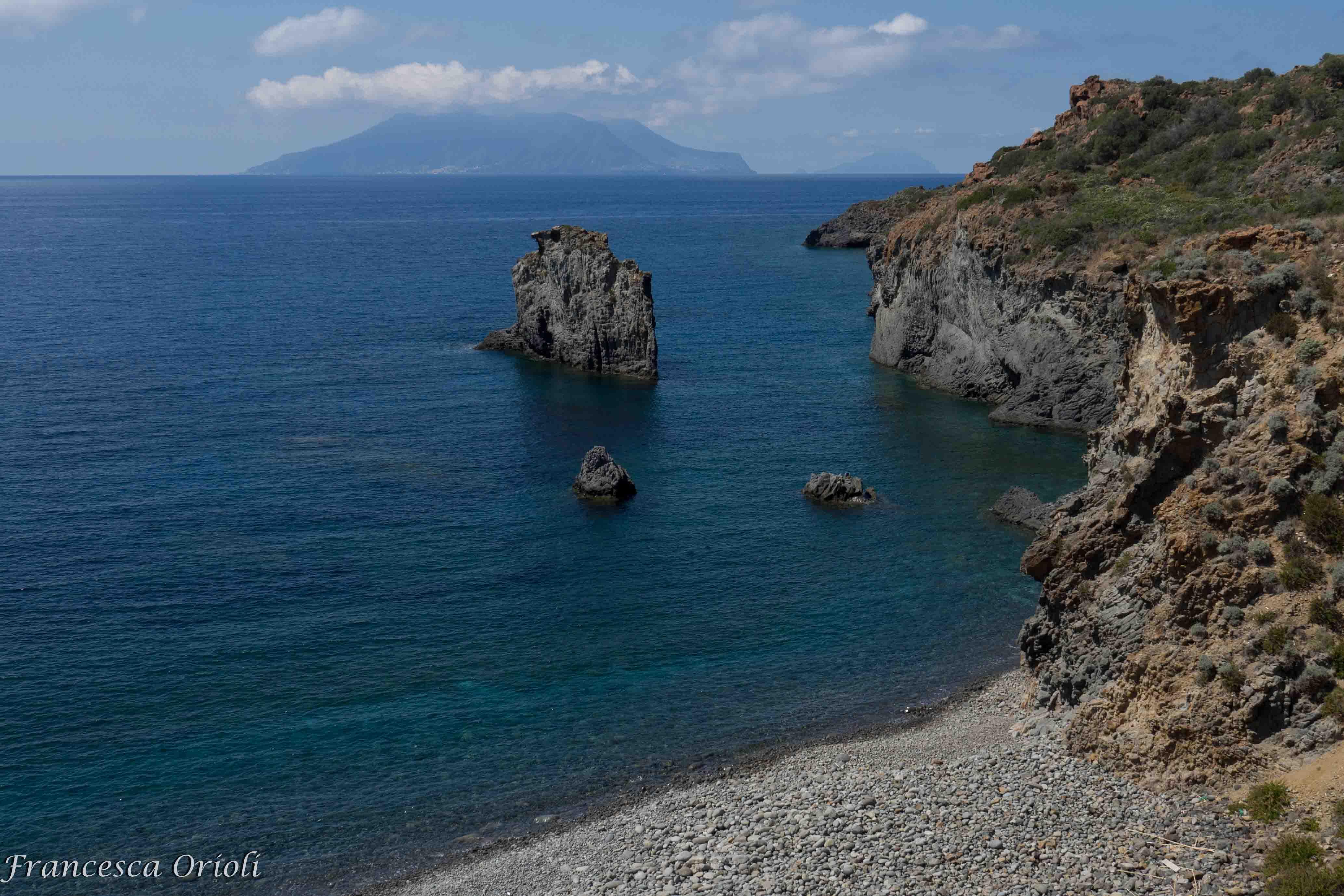 Panarea-spiaggia