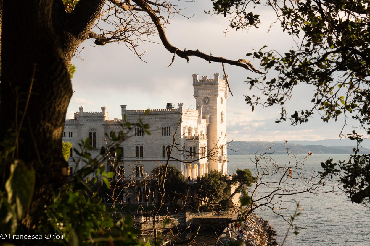Il castello di Miramare