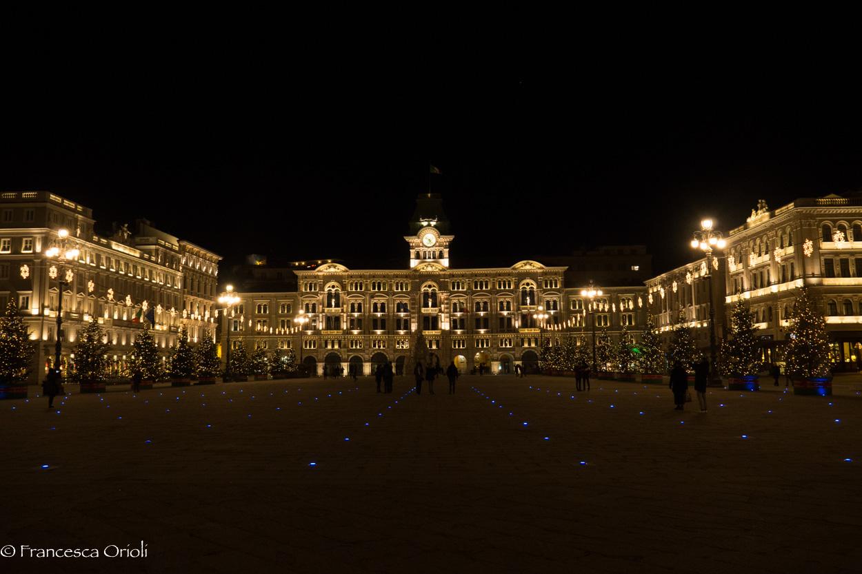 Trieste piazza grande