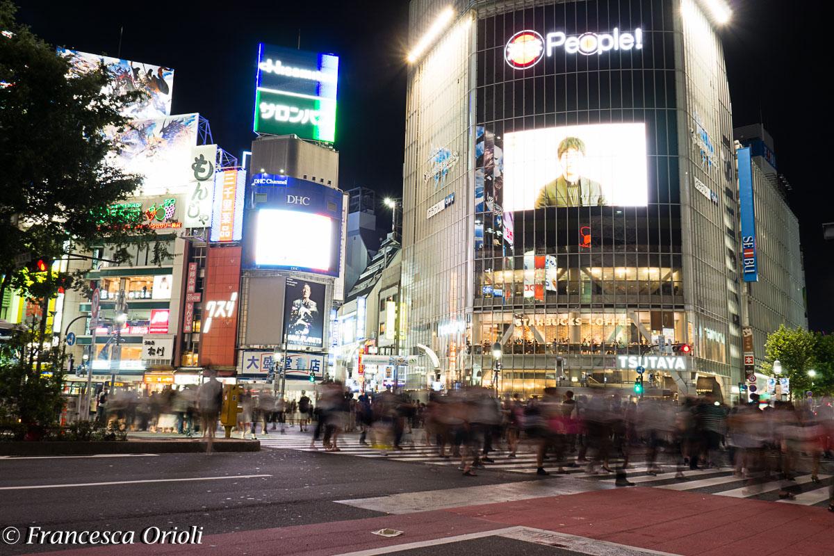 Shibuya incrocio più trafficato al mondo