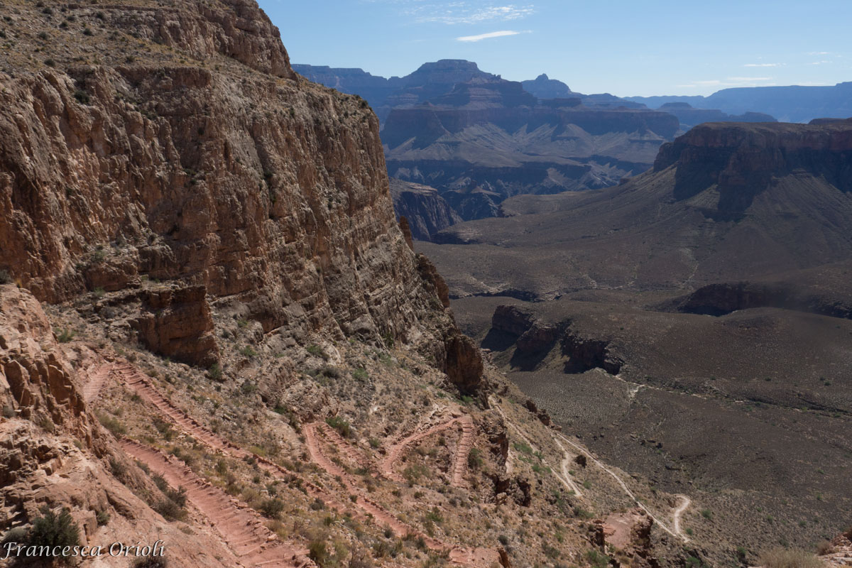 Sentiero sul South Kaibab