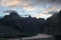 Il Colorado dal Bright Angel Trail ore 6.00
