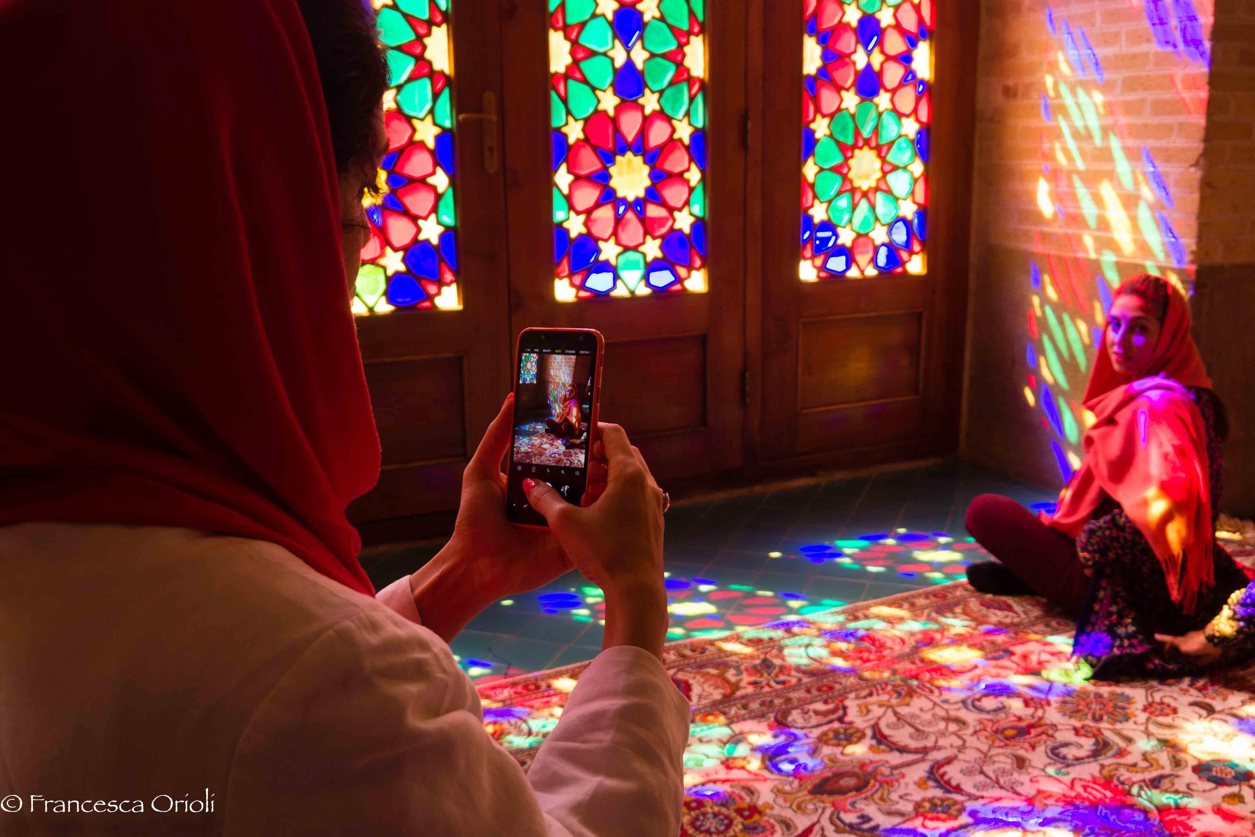 01 Shiraz Moschea rosa