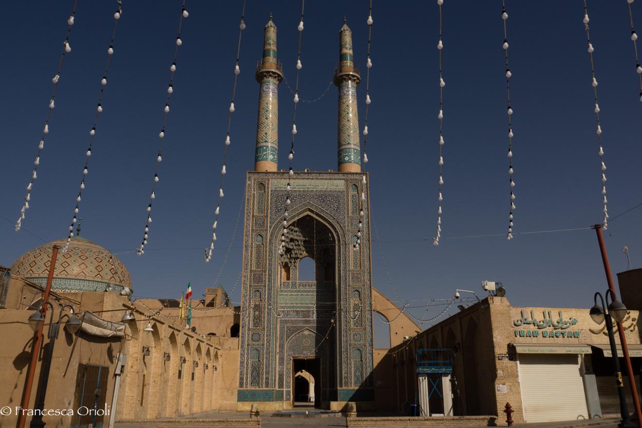 17 Yazd moschea Masjed-e Jameh_
