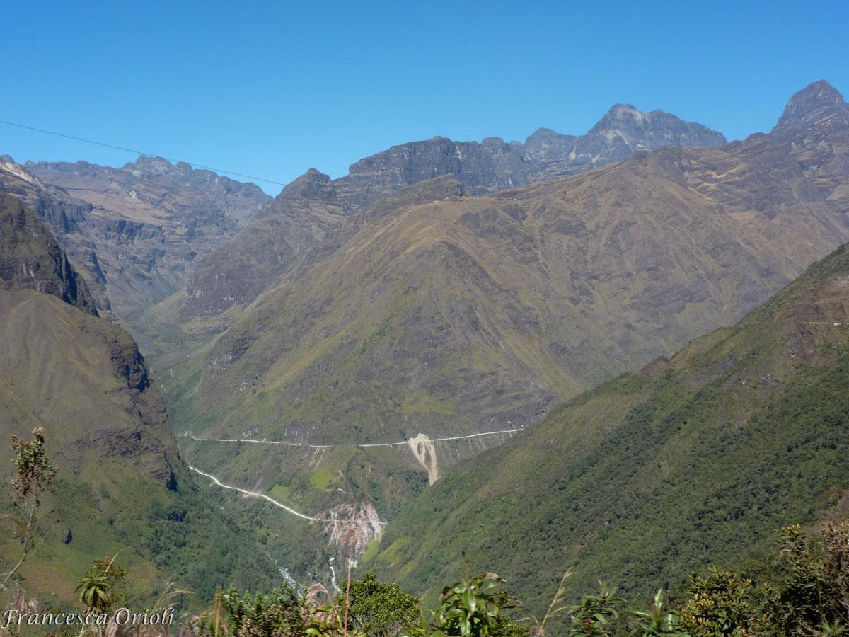 La Carretera vista dall'altro versante