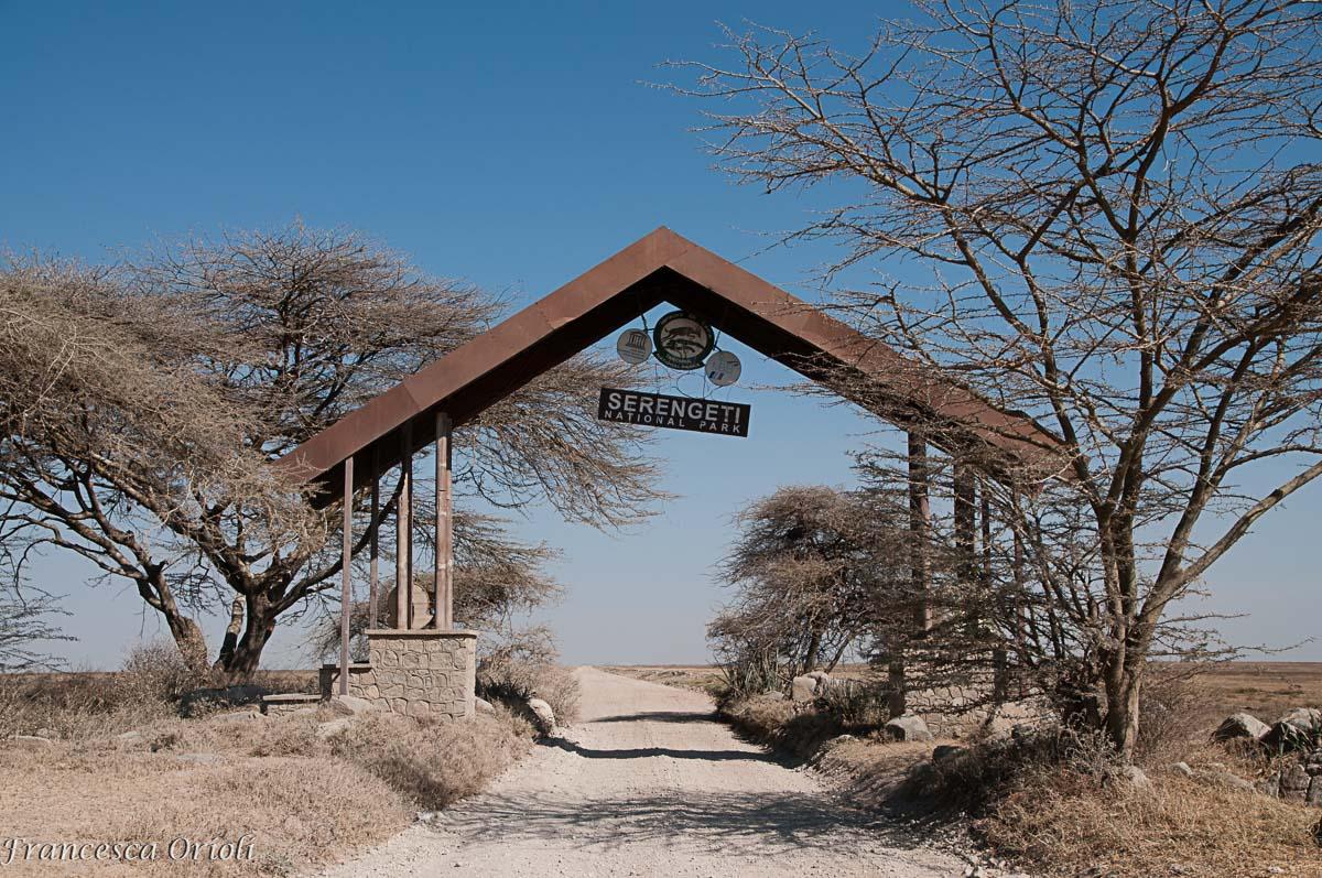 L'ingresso, provenendo dal Ngorongoro
