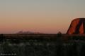 Uluru-Ayes Rock - Vista sulle Olgas