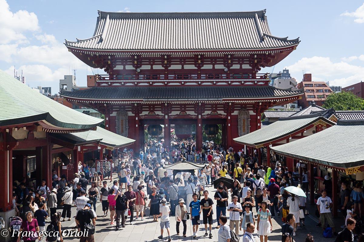 Tokyo tempio Senso Asakusa