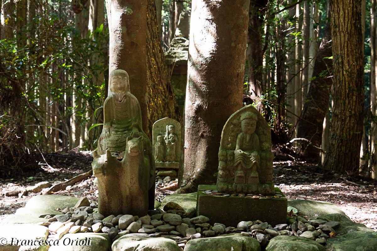 Lungo il sentieri di pellegrinaggio Kumano Kodo