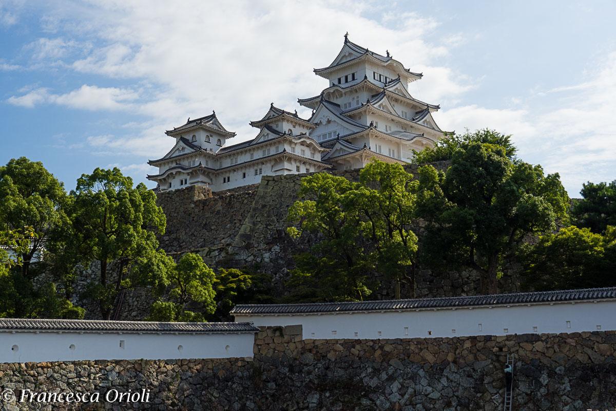 Il castello di Himeji: l'Airone Bianco
