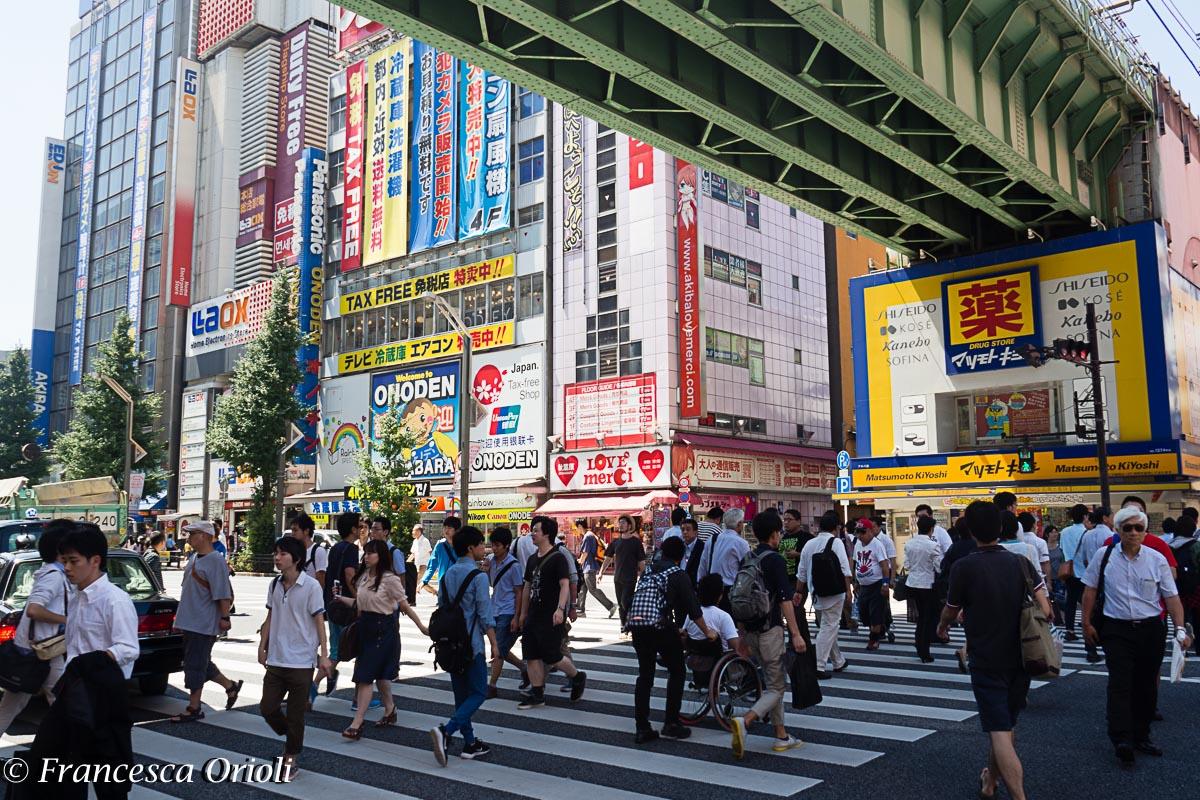 Tokyo quartiere Akihabara