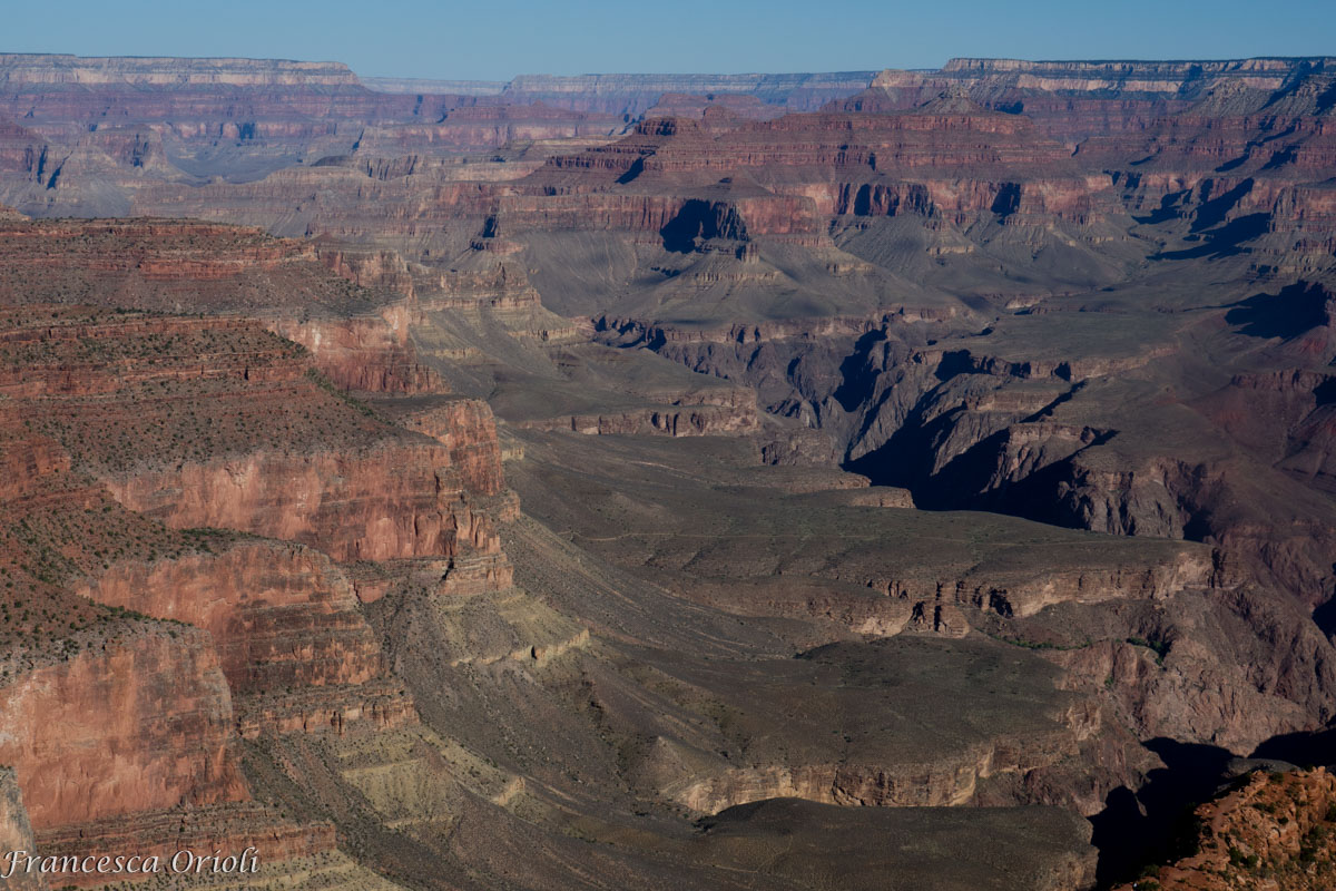 Lungo il South Kaibab
