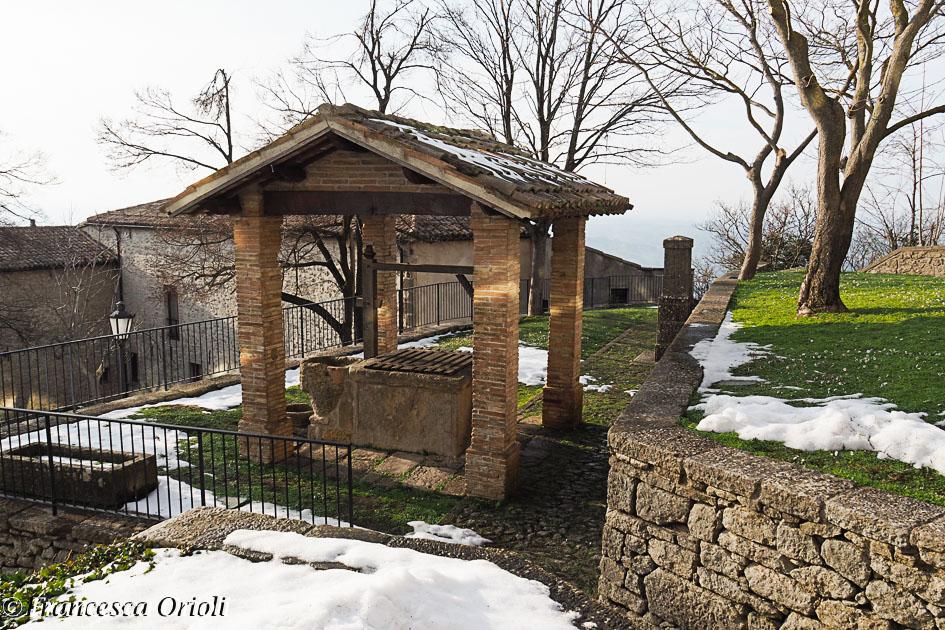 All'interno del complesso di Santa Chiara