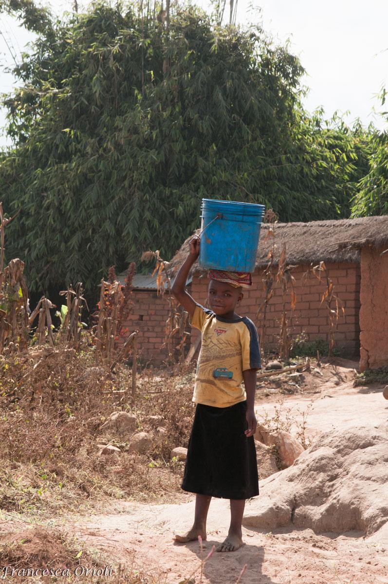 Mapanda Scorte d'acqua al pozzo