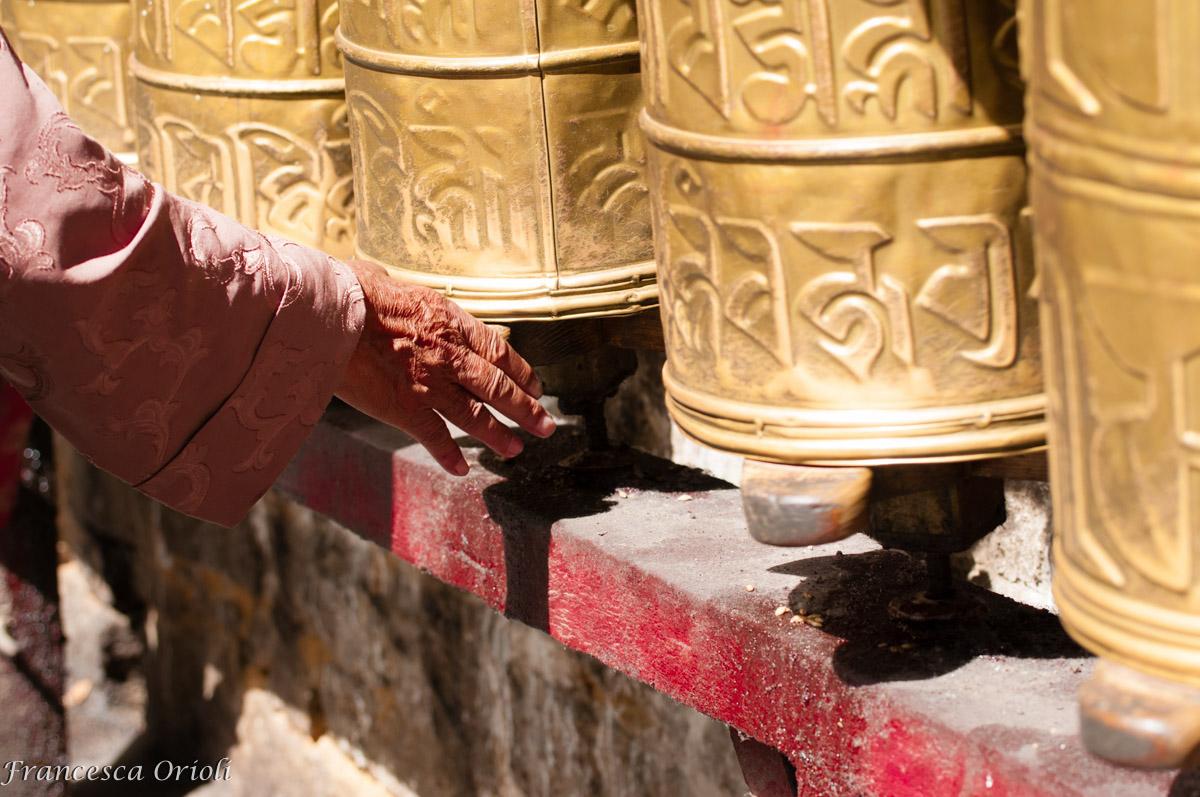 Le ruote di preghiera