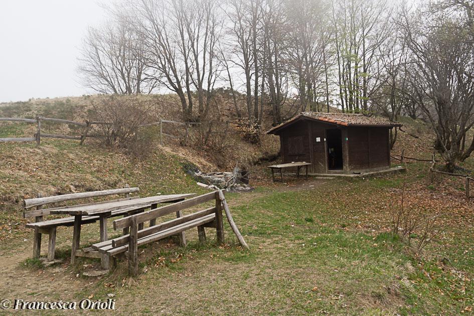 Bivacco Laguione sul Monte Brugnolo