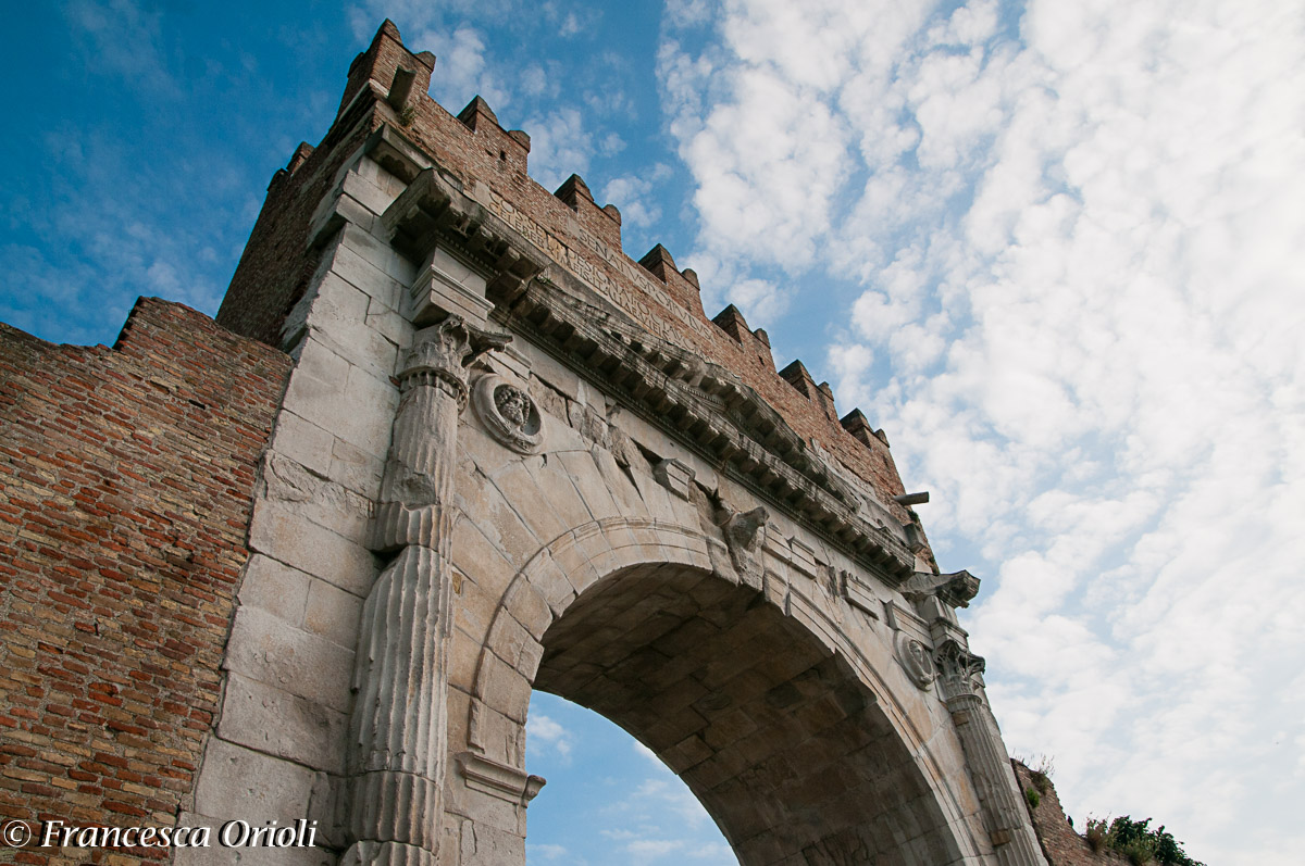 Ariminum - Arco di Augusto